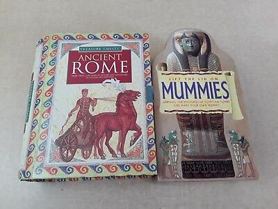 Roman And Egyptian Treasure Chests Homeschool Activity Kit
