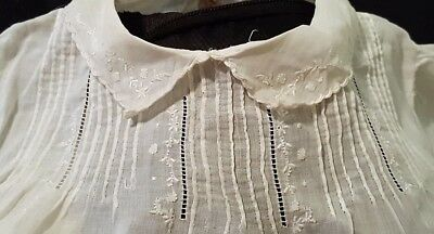 Antique 1920/1930's Lawn Baby Dress From England/Vintage Flapper Era/Embroidery