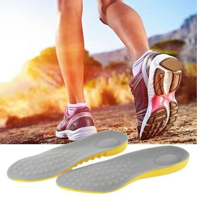 Orthotic Shoe Insoles Flat Feet Foot High Arch Gel Heel Support Inserts Pads.