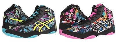 Asics JB Elite V2.0 Wrestling Shoes Men's Size 8-12 Cosmic Graffiti J501Q Last 1