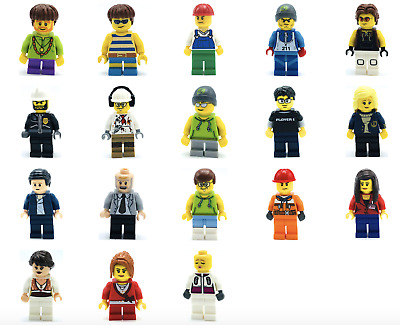 Lego New Minifigures  Town City Series Boy Girl Figs You Pick And Choose Figures