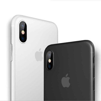 Matte Transparent Ultra-Thin Slim Case Cover Skin for Apple iPhone XS Max XR