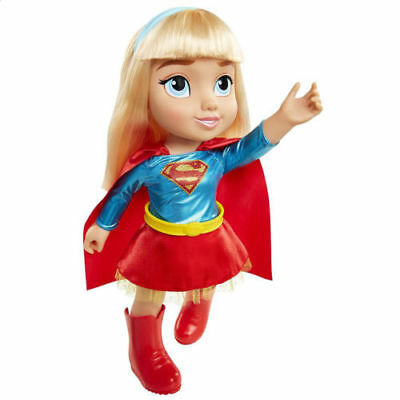 36Cm Supergirl Dc Comic Super Hero Girl Soft Toddler Doll Girl Toy Action Figure