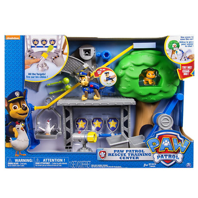 Deluxe Edition Paw Patrol Rescue Training Centre Family Board Game Play Toy Set
