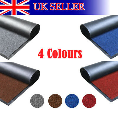 Heavy Duty Non Slip Rubber Barrier Mat Large&small Rugs Back Door Kitchen 60*180