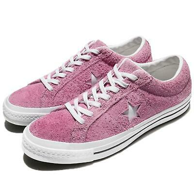80b00d6f9a7 Converse One Star Suede Pink White Men Women Classic Shoes Sneakers 159492C