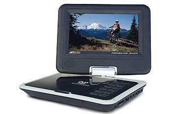 Genuine Peugeot 308 DVD Player with 7 Inch Rotating Screen - 1613700480