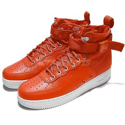 c2e6ad97aa0ff4 Nike SF AF1 Mid Special Field Air Force 1 Team Orange Men Sneakers 917753- 800