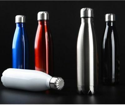 Stainless Steel 1000ml Insulated Drink Bottle Double Wall Cold Hot Swell Water