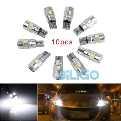 10x T10 3W 5630 6-SMD LED Xenon Canbus Standlicht Beleuchtung Lampe Licht 12V