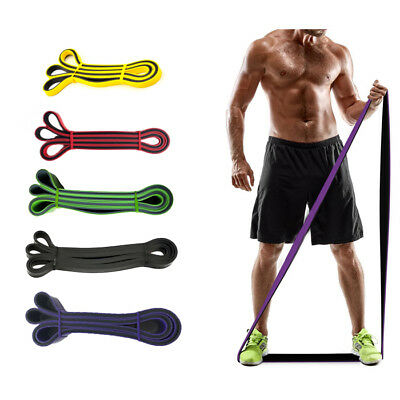 Resistance Bands Fitness Pull Up Assist Band Workout Yoga Home Exercise Crossfit