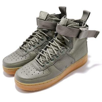 best sneakers c08ac 621e8 Nike Wmns SF AF1 Mid Special Field Air Force 1 Grey Gum Women Casual AA3966-