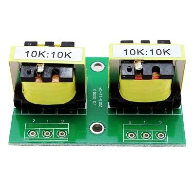 10K:10K Permalloy Audio Isolation Transformer Board Unbalanced Convertor