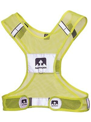 Nathan Hi-viz Yellow 2017 Streak Cycling Safety Vest