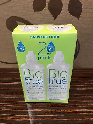 Biotrue - Bausch&Lomb -All in One Multifunktionslösung - 2 x 300 ml