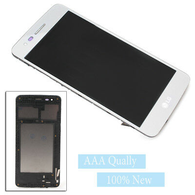 For LG Aristo M210 MS210 LV3 K8 2017 Touch Screen Digitizer Display LCD Frame