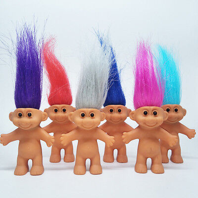 Vintage Doll Toys 2018 New Movie Great Trolls Pobby's Birthday Party Decoration