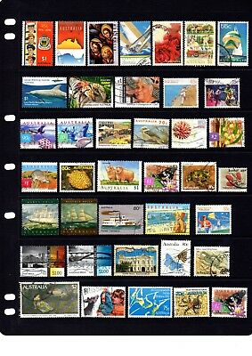Australian sheet stamps, including high value, free post - off paper - Lot 417.