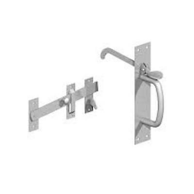 "HEAVY DUTY GALVANISED SUFFOLK THUMB LATCH 8.5/"" FOR DOORS OR GATES"