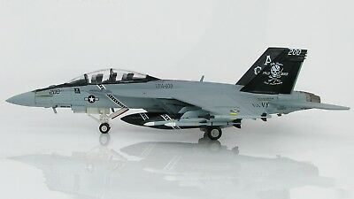 Hobby Master 1:72 US Navy F/A-18F Super Hornet 'Jolly Rogers - 70th' 166620