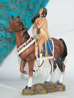 Sisters in Spirit Collection Indian Maiden on Horse - Seeking the Great Spirit