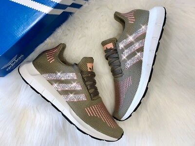 CRYSTAL ADIDAS SWIFT Run Gr. 40 23 tracar rosa NMD mit