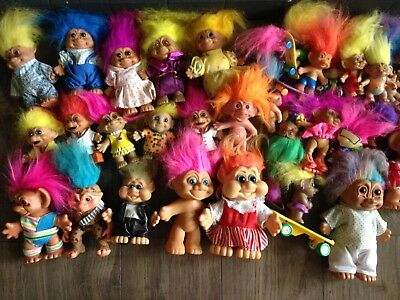 Joblot of vintage trolls Huge Bundle.