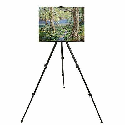 Folding Telescopic Artist Easel Tripod Portable Sketch Paint Draw Display Stand