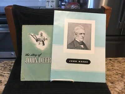 "Rare 1957 Vintage ""The Story Of John Deere"" Original Brochure-Excellent D21-57-5"