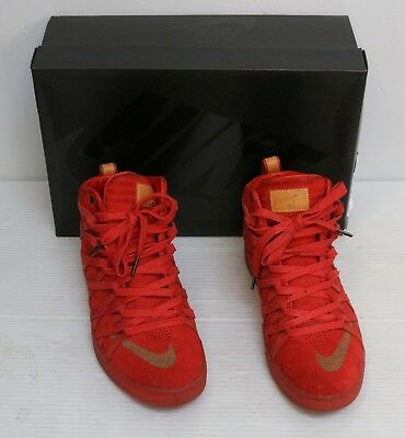 Nike KD 7 VII NSW Lifestyle QS Challenge Red Suede 653871-600 Sz 9 DS c2120ab26e