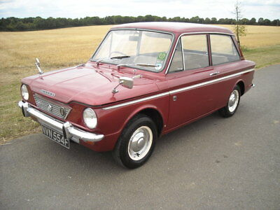 Hillman Imp Singer Chamois 1968 History From Day One 40,000 Miles