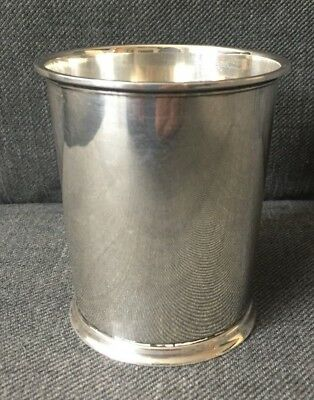 Vintage Sterling Silver Fisher No. 86 Mint Julep Cup