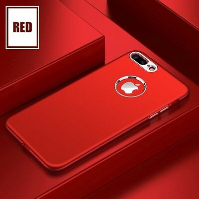 iPhone X 8 7 6 Plus Ultra Thin Luxury Matte Shockproof Case Hard Back Cover Skin