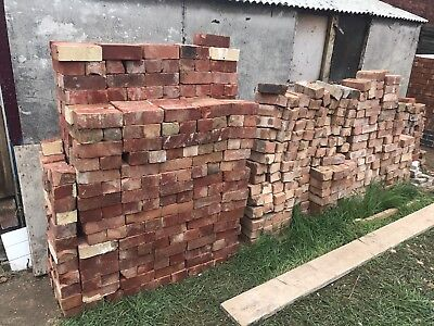 RECLAIMED Imperial Red Bricks (approx. 500 Bricks)