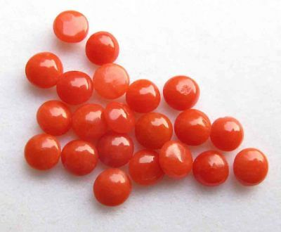 6.70 Cts Excellent Quality Natural Red Italian Coral Loose Gemstone lot