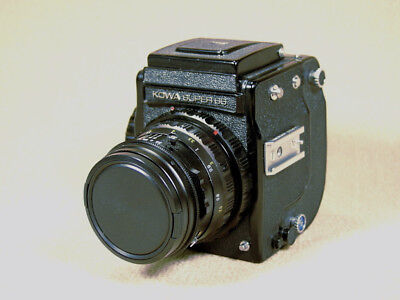 Kowa Super 66 with Waist Level Finder 85mm Lens and 120/220 Back