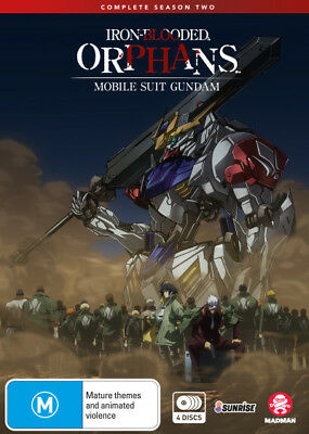 Mobile Suit Gundam Iron-Blooded Orphans: Season 2  - DVD - NEW Region 4
