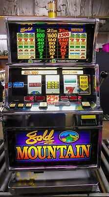 Igt S+ Reel Slot Machine: Gold Mountain