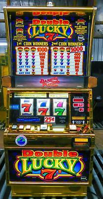 IGT S-2000 REEL SLOT MACHINE: DOUBLE LUCKY 7's