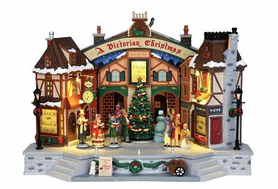 Lemax Christmas Carol Play Cod 45734 Village Presepe
