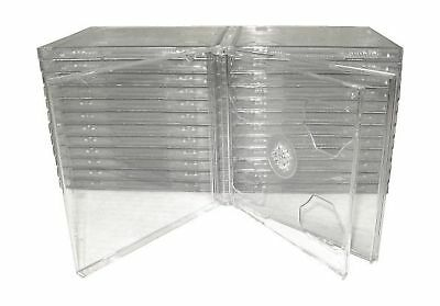 Jewel Case Cd Clear Double Smart Tray Hige High Quality Plastic Safe Packagig