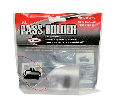 Toll Pass Holder Widshield Mout For Ez Pass Tag Traspoder Holder Black GIFT NEW