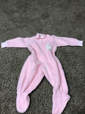 Vintage Penny's Size 1 Pink Girls Zip Up Jumper
