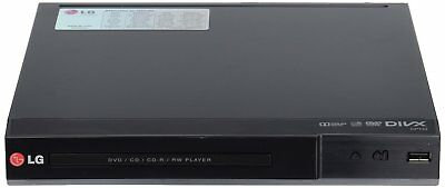 LG DP542H Full Multi Region HD DVD Player With HDMI Cable & DVD Lens Cleaner