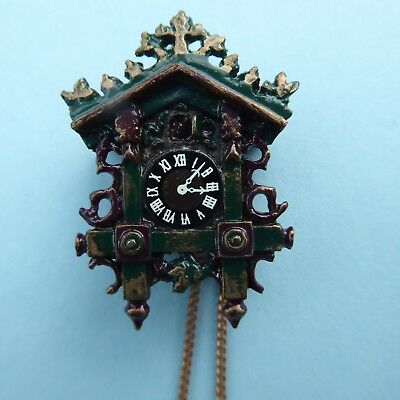 CUCKOO CLOCK, UK, COLLECTIBLE for 1/12 th doll's house,