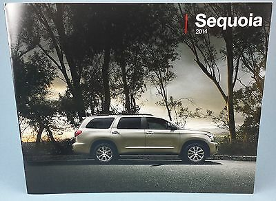 2014 Toyota Sequoia SUV Genuine Factory Sales Brochure / NEW / FREE SHIPPING!