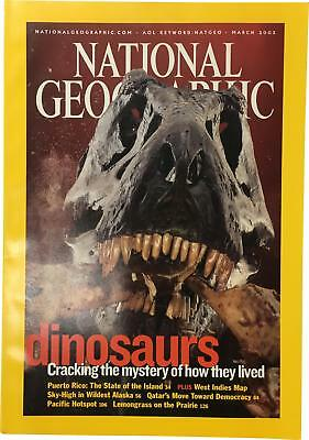 PRE-OWNED National Geographic March 2003 Geo Magazine CK309