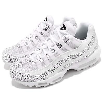 4ccdf6d9d7 Nike Air Max 95 SE White Just Do It Pack Mens Running Shoes NSW AV6246-
