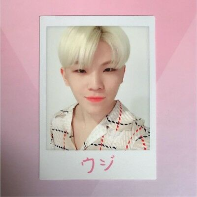 SEVENTEEN WOOZI IDEAL CUT IN JAPAN CONCERT 2018 Limited Trading Card b088