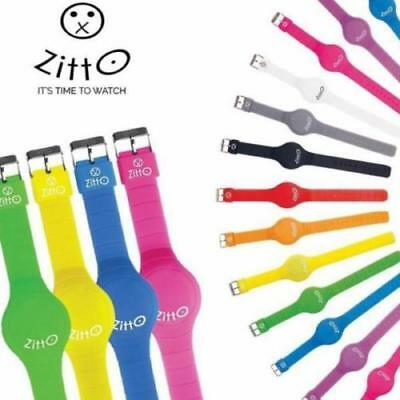 Orologi Zitto In Silicone Uomo Donna Unisex Colorati A Led